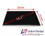 """""""Laptop LCD Scherm 14,1"""""""" 1024x768 XGA Matte Standard"""""""